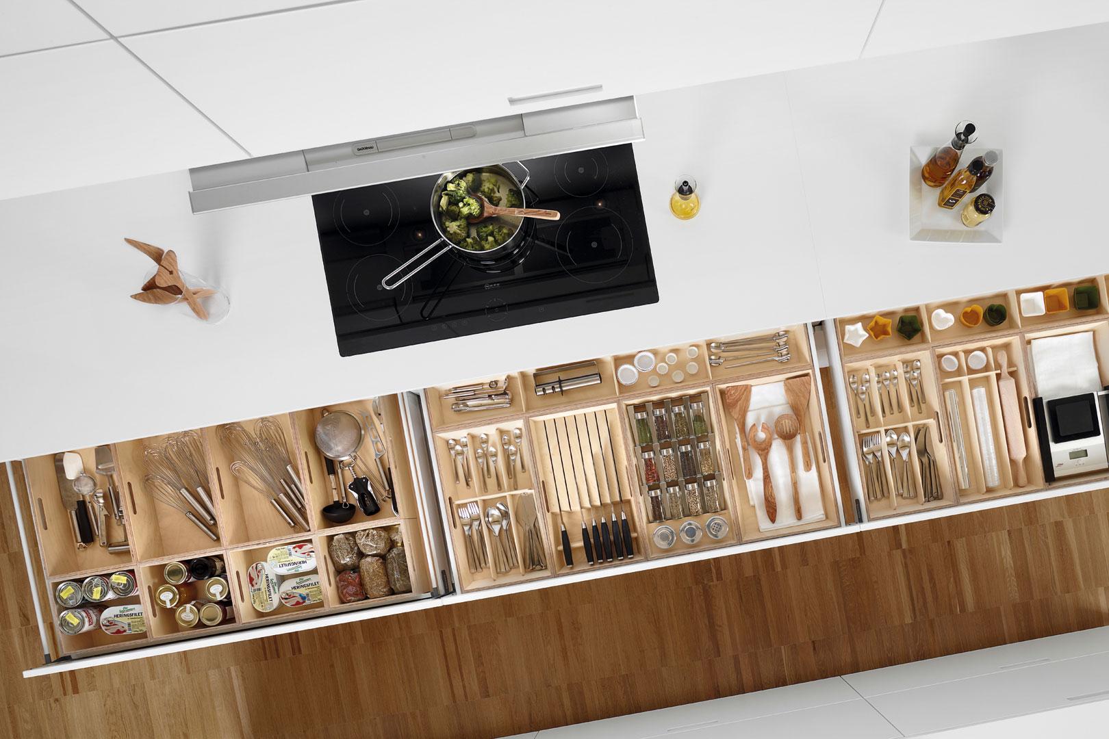 Accesorios de cocina Santos: orden y belleza | Santiago Interiores
