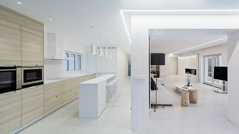 Dise o de cocinas modernas proyectos santiago interiores for Proyectos de cocina easy