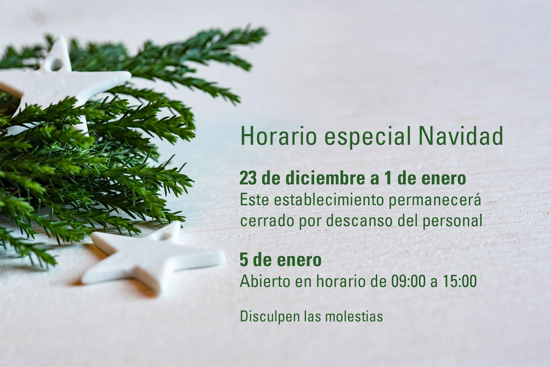 Del 23 de diciembre al 1 de enero la tienda de Santiago Interiores permanecerá cerrada por vacaciones de Navidad. | Cocinas Santos
