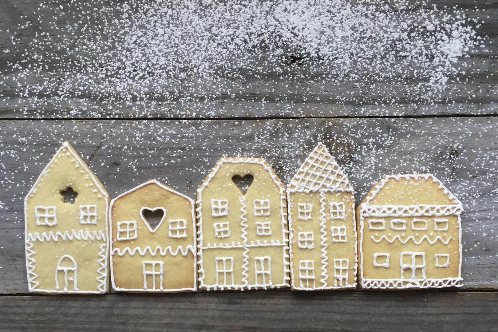 Receta de Galletas de casitas holandesas | Cocinas Santos | Santiago Interiores