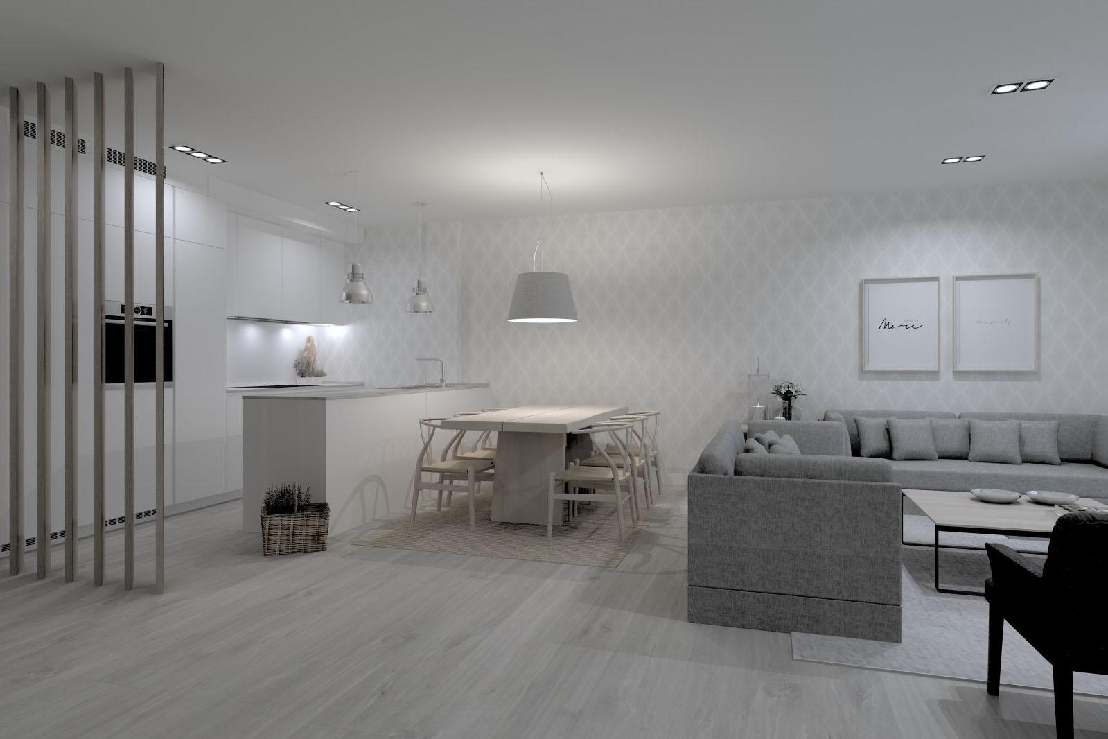 Delimitar la cocina: 5 ideas | Cocinas Santos | Santiago Interiores