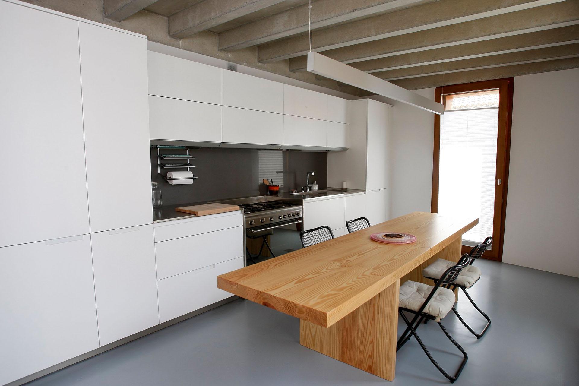C mo dise ar cocinas peque as cocinas santos santiago interiores - Distribucion de cocina ...