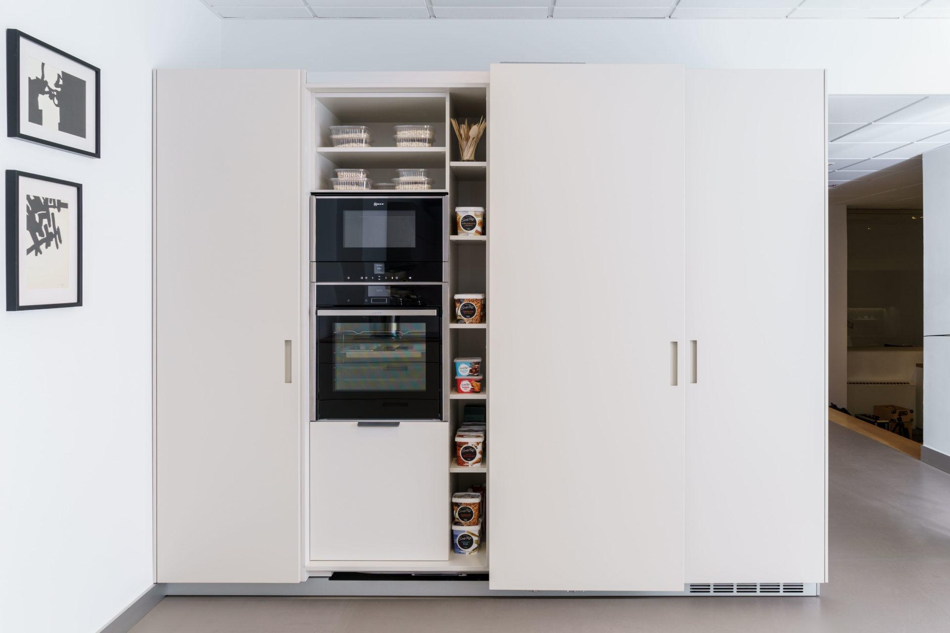 Electrodomésticos integrados en el mobiliario