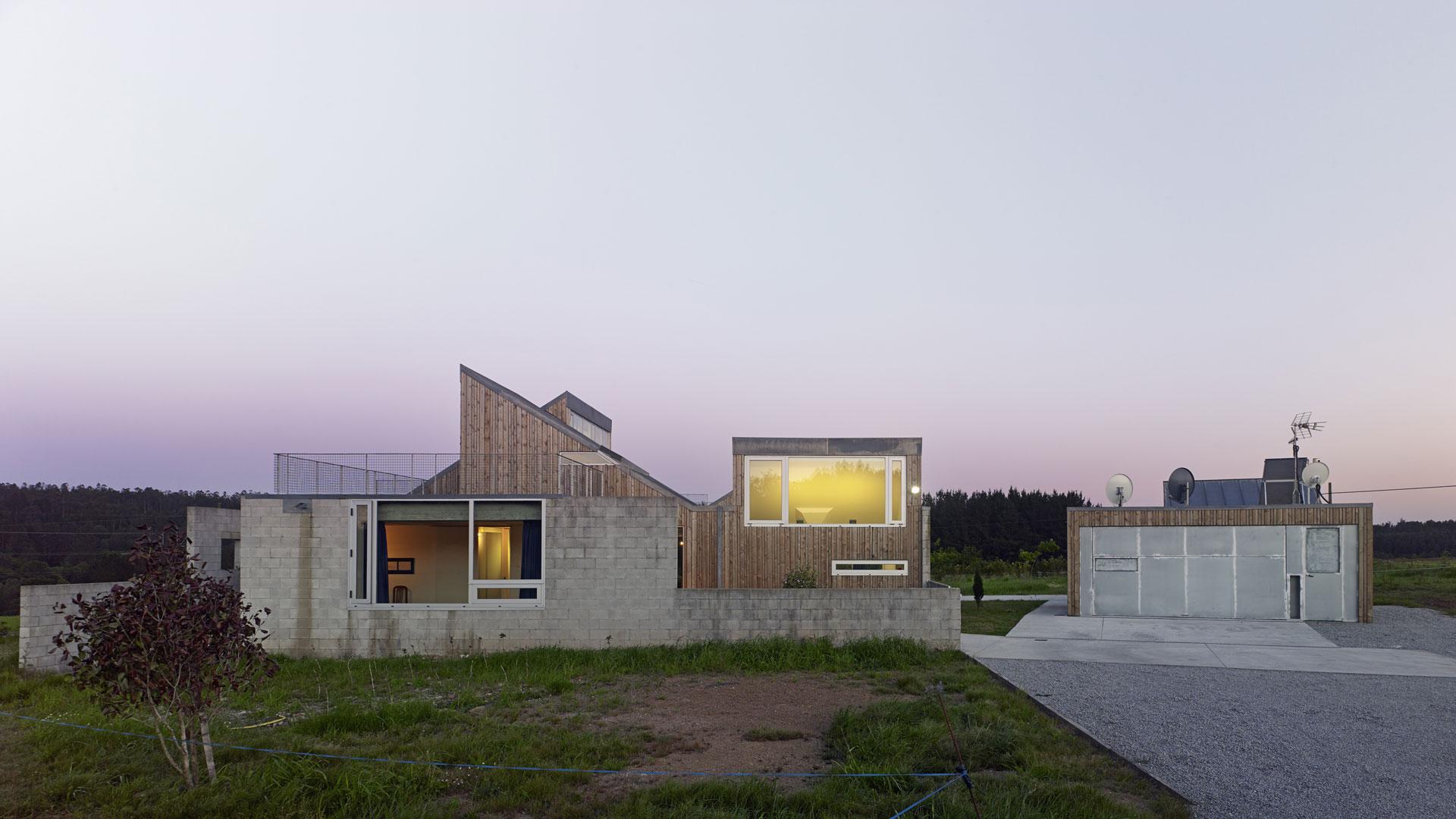 Casa Escribenta. Proyectos Santiago Interiores