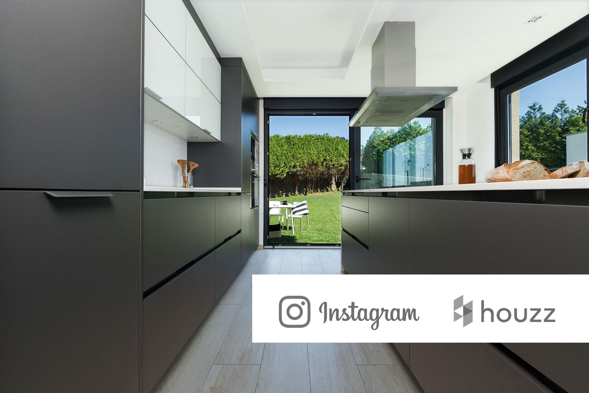 Red social de decoración Houzz e Instagram: nuevos canales de comunicación de Santiago Interiores | Cocinas Santos
