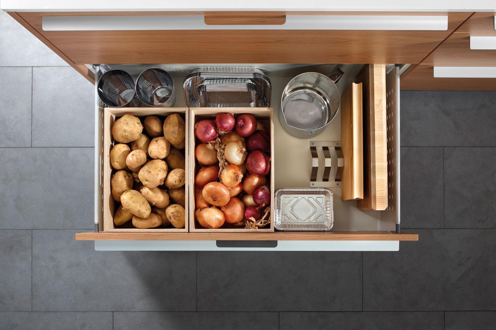 Accesorios para tu cocina Santos: orden y belleza | Cajones | Santiago Interiores