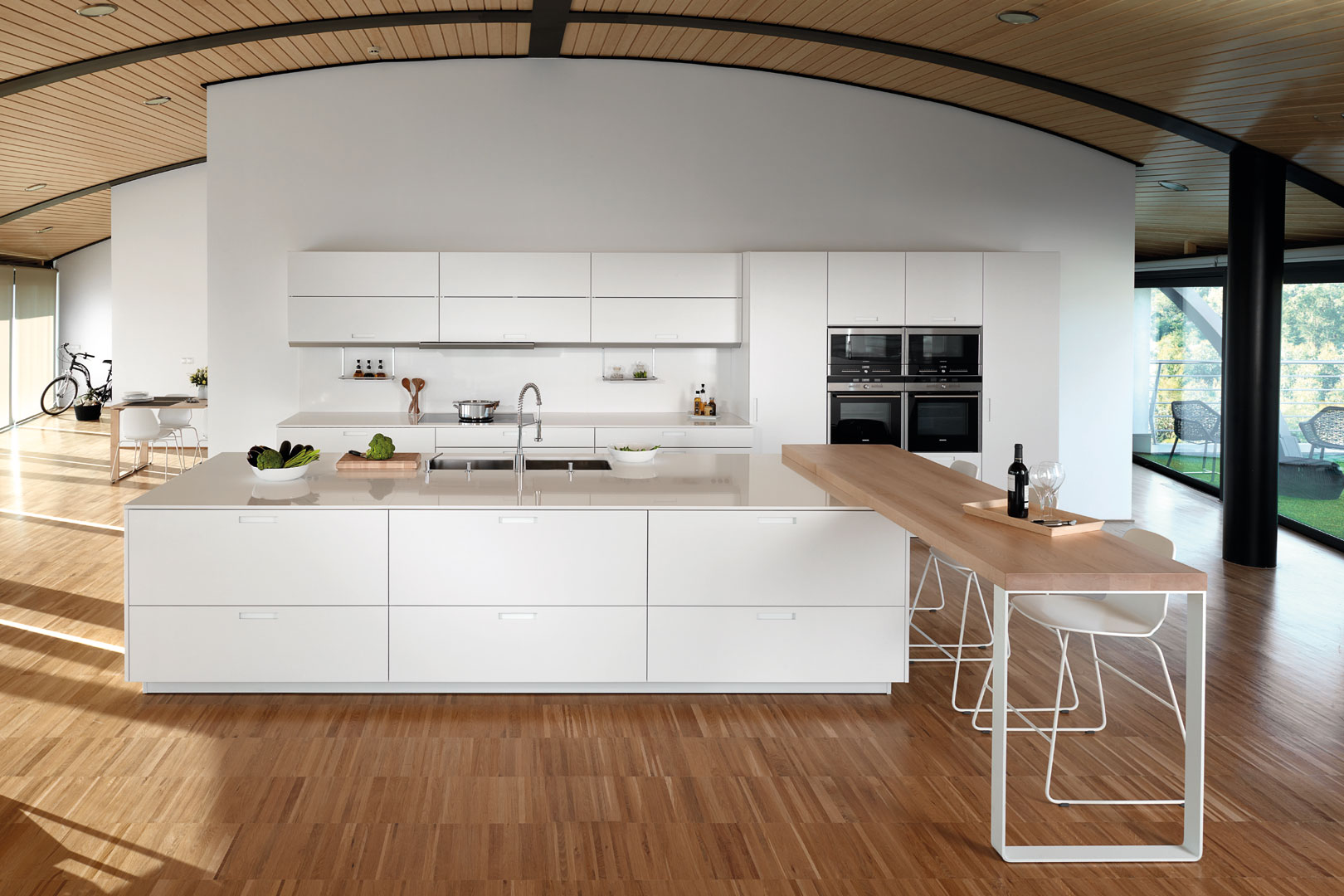 Tendencias: cocinas abiertas | Karmel Lacado | Cocinas Santos | Santiago Interiores