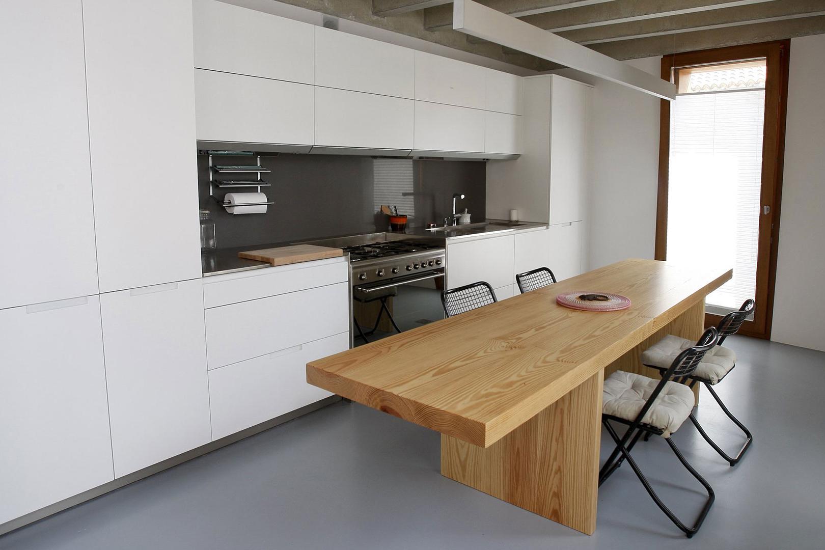Encimeras de cocina | Acero | Cocinas Santos | Santiago Interiores