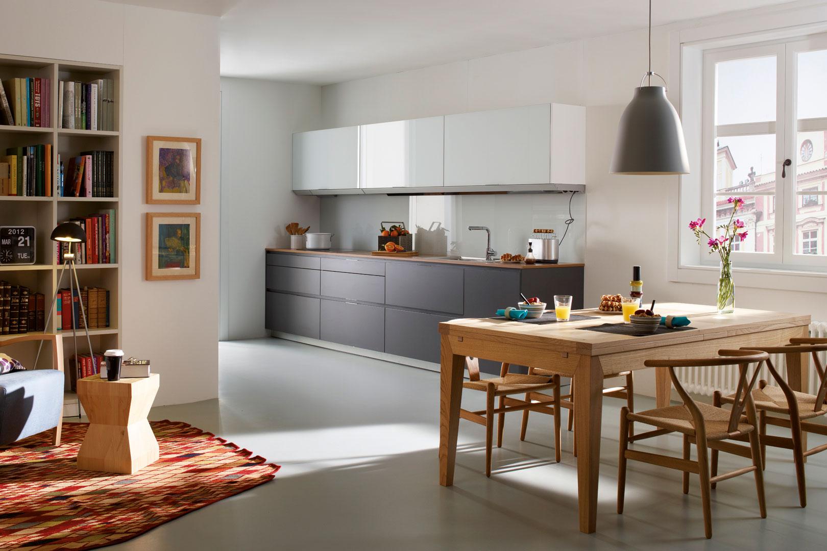 Encimeras de cocina | Laminado madera | Cocinas Santos | Santiago Interiores
