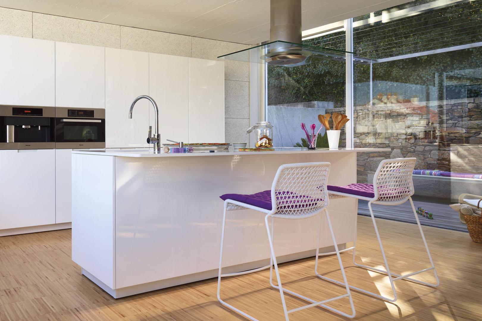 Cocinas Top de España: ranking de Habitissimo | Minos lacado Blanco BD | Cocinas Santos | Santiago Interiores