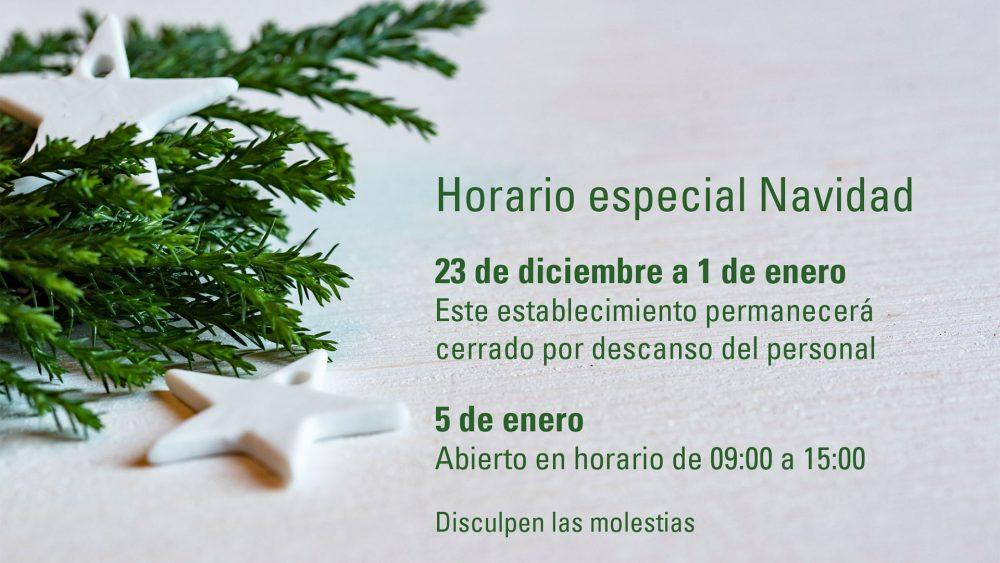 Del 23 de diciembre al 1 de enero la tienda de Santiago Interiores permanecerá cerrada por vacaciones de Navidad.   Cocinas Santos