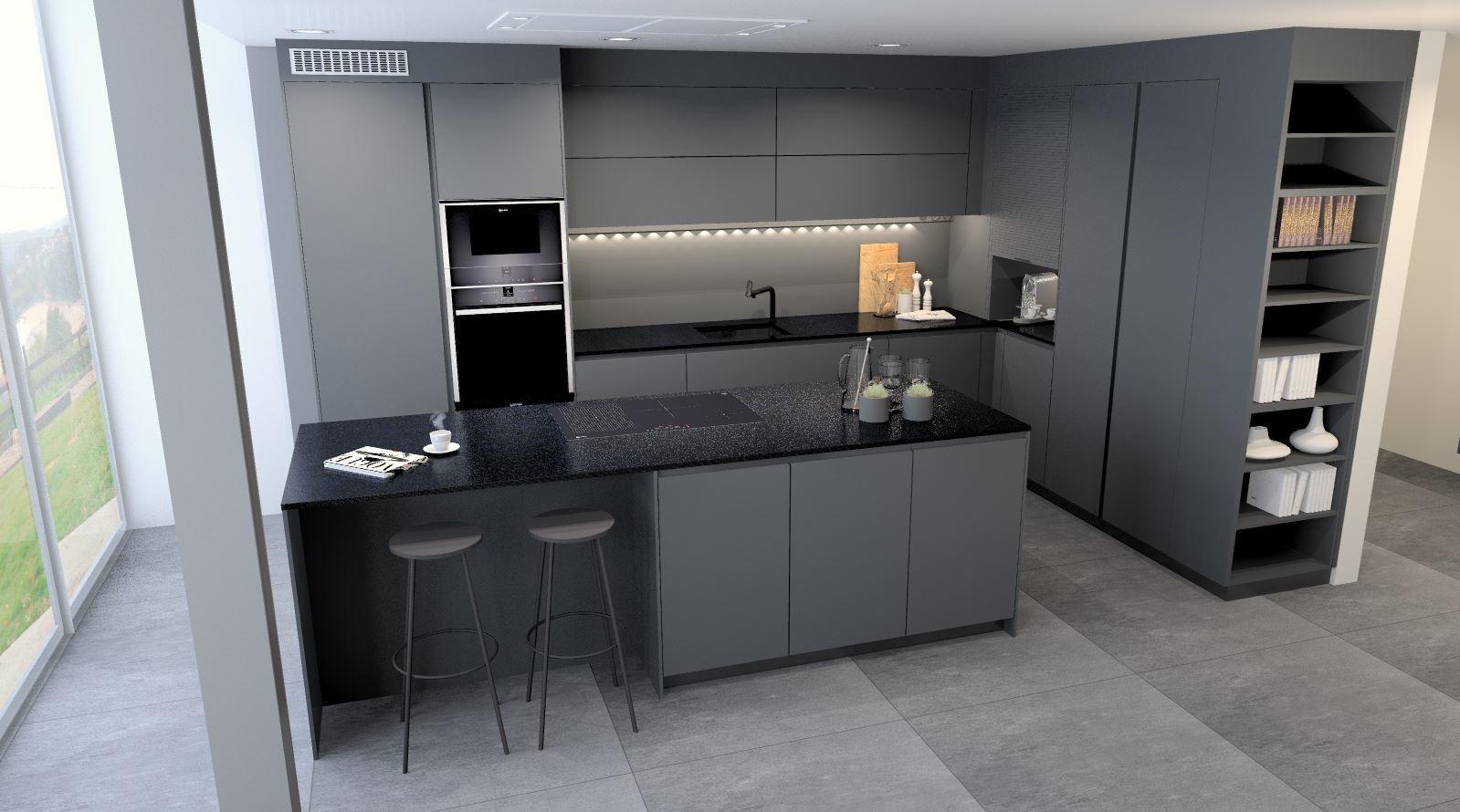 Grifos de cocina con color: blanco o negro