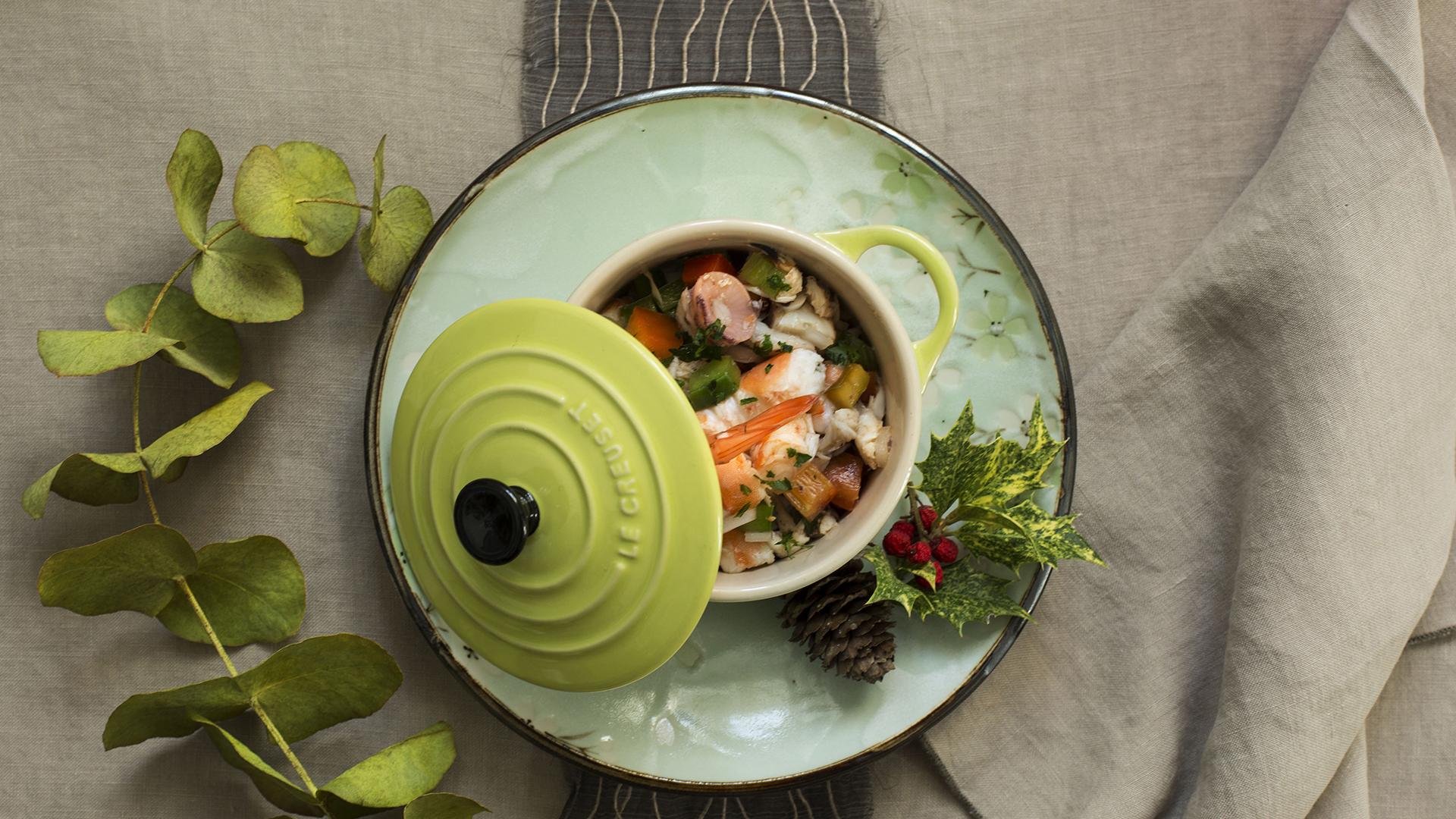receta de salpicón de marisco