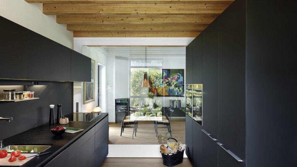 Distribución de cocinas en paralelo