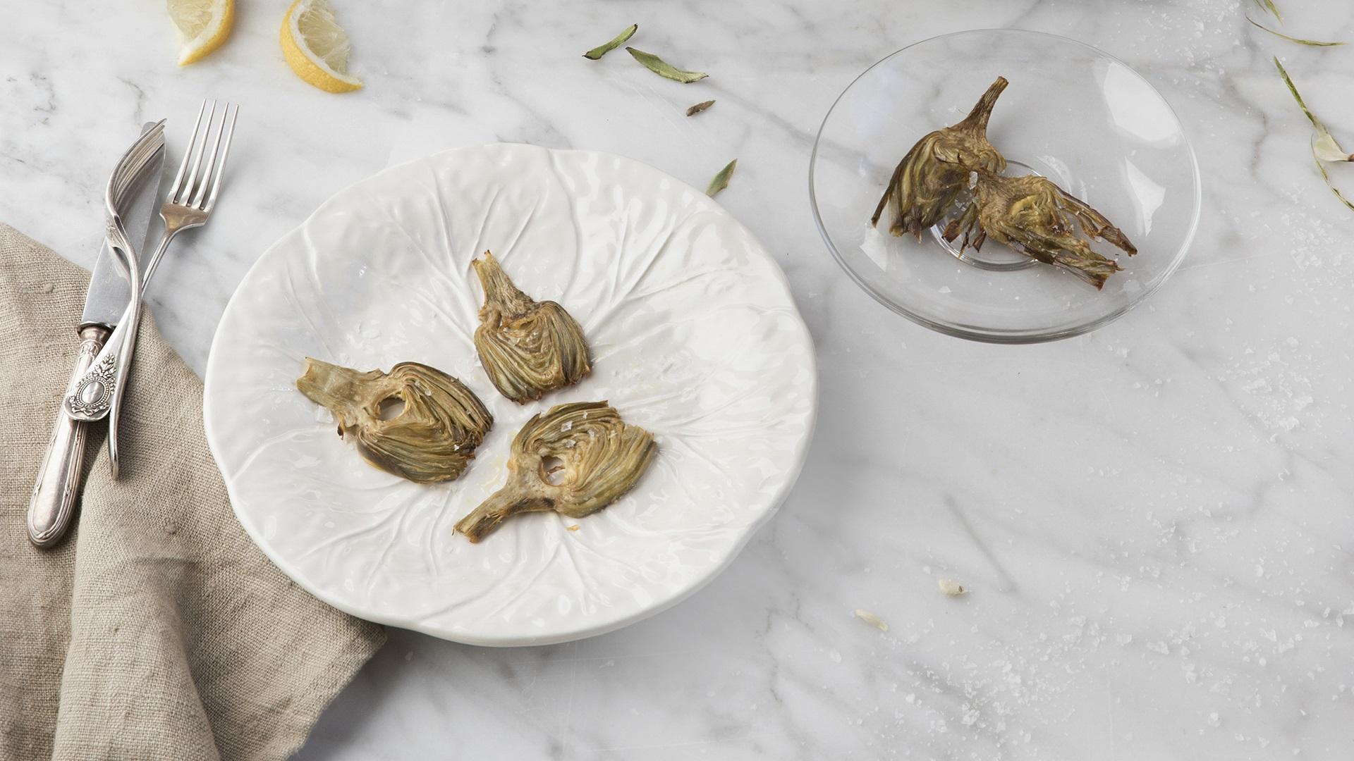 Receta chips de alcachofas de Cocinas Santos