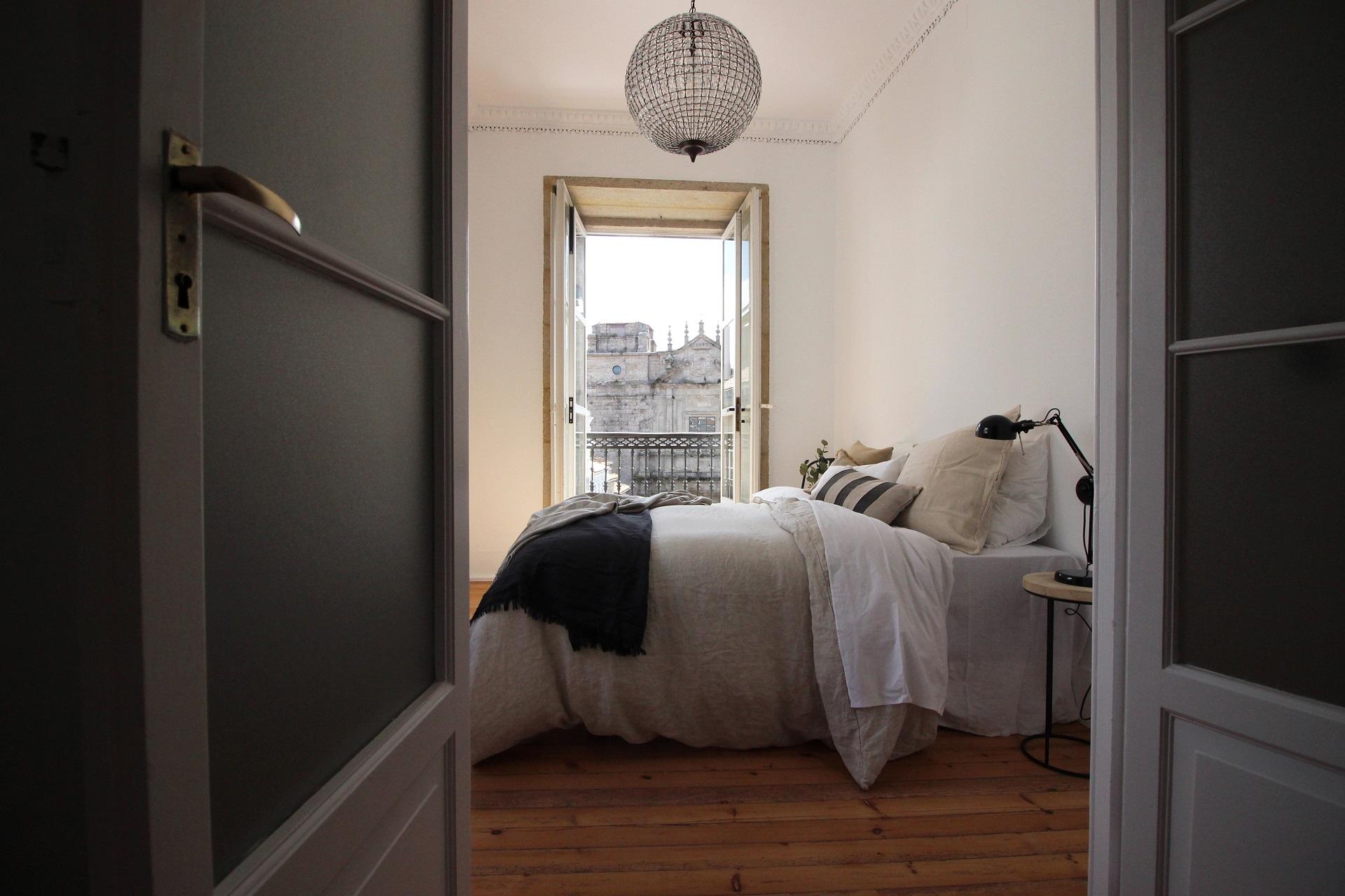 Dormitorio en reforma casa antigua Santiago Interiores