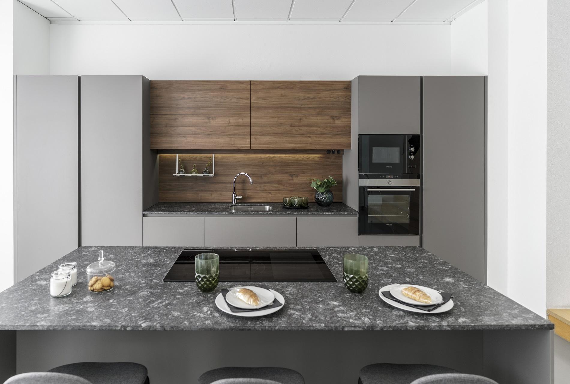 Image cocina-line-e-gris-vison-nogal-oferta