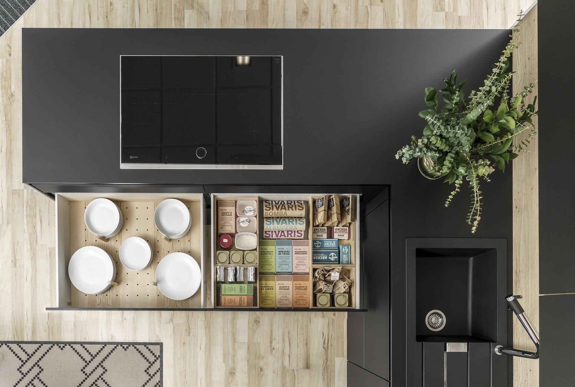 Image cocina-line-lah-negro-seda-liquidacion