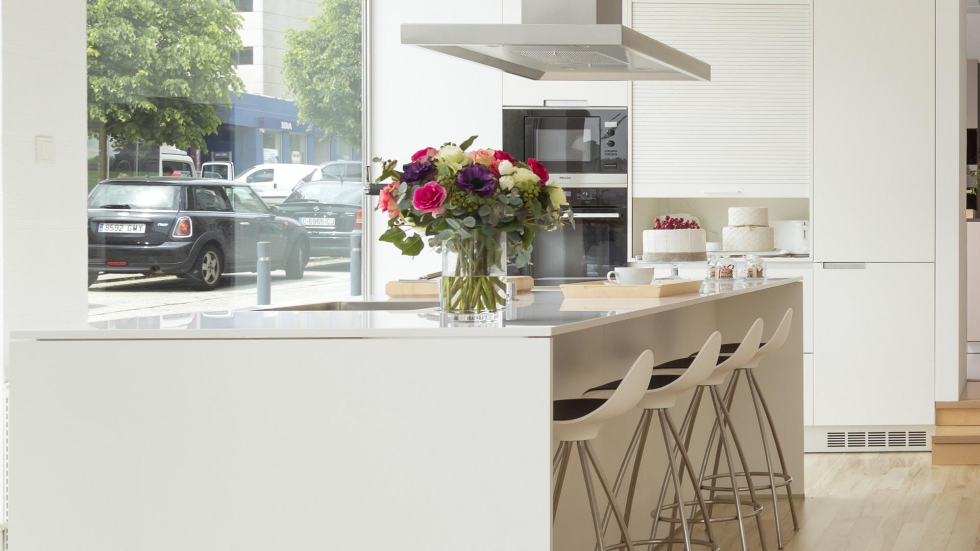 Cocinas de exposición en liquidación Minos Line E Santiago Interiores
