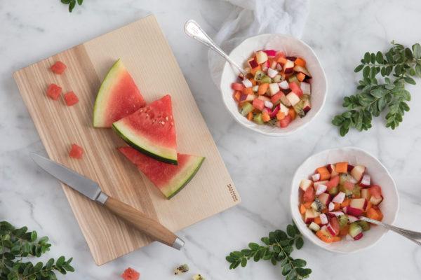 Macedonia de frutas y hortalizas
