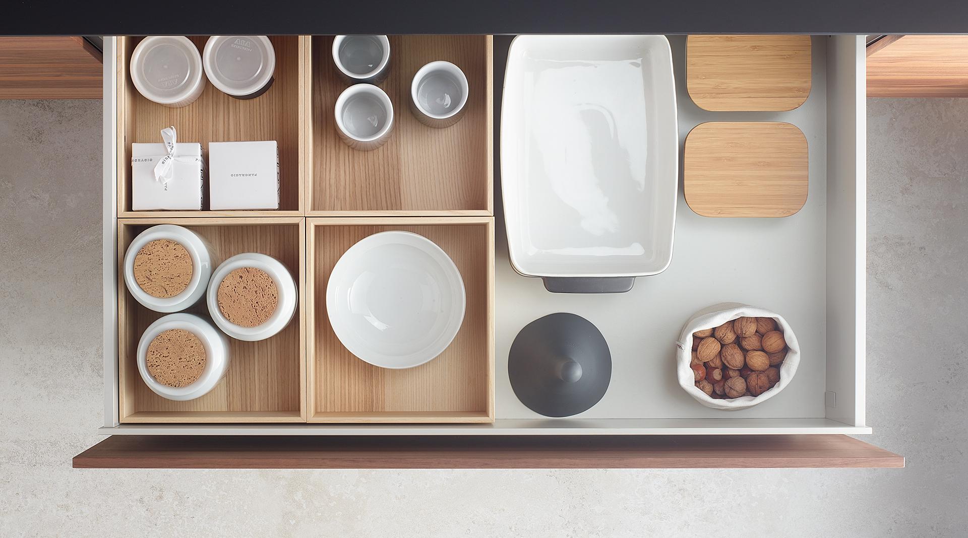 Accesorios extraibles para muebles de cocina Santos