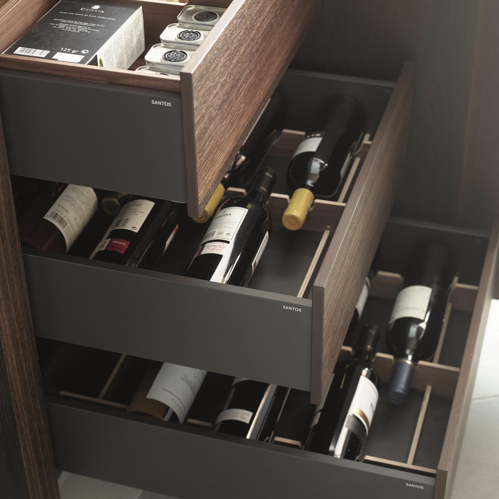 Botelleros para cocinas Santiago Interiores