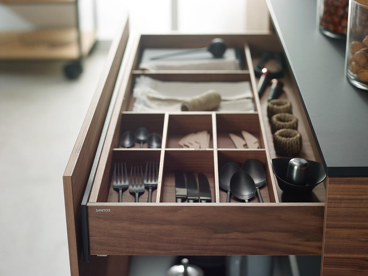 Cubertero para cajones de cocina Santiago Interiores