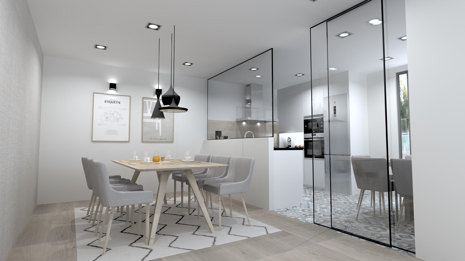 Tendencias cocinas abiertas Santiago Interiores