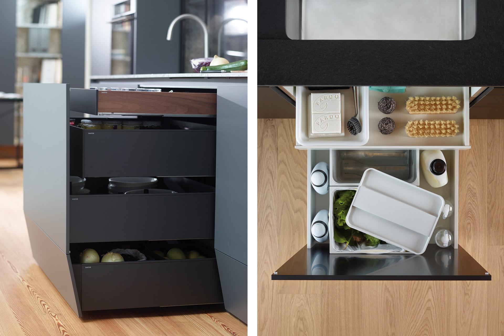 Ahorrar espacio en cocinas pequeñas