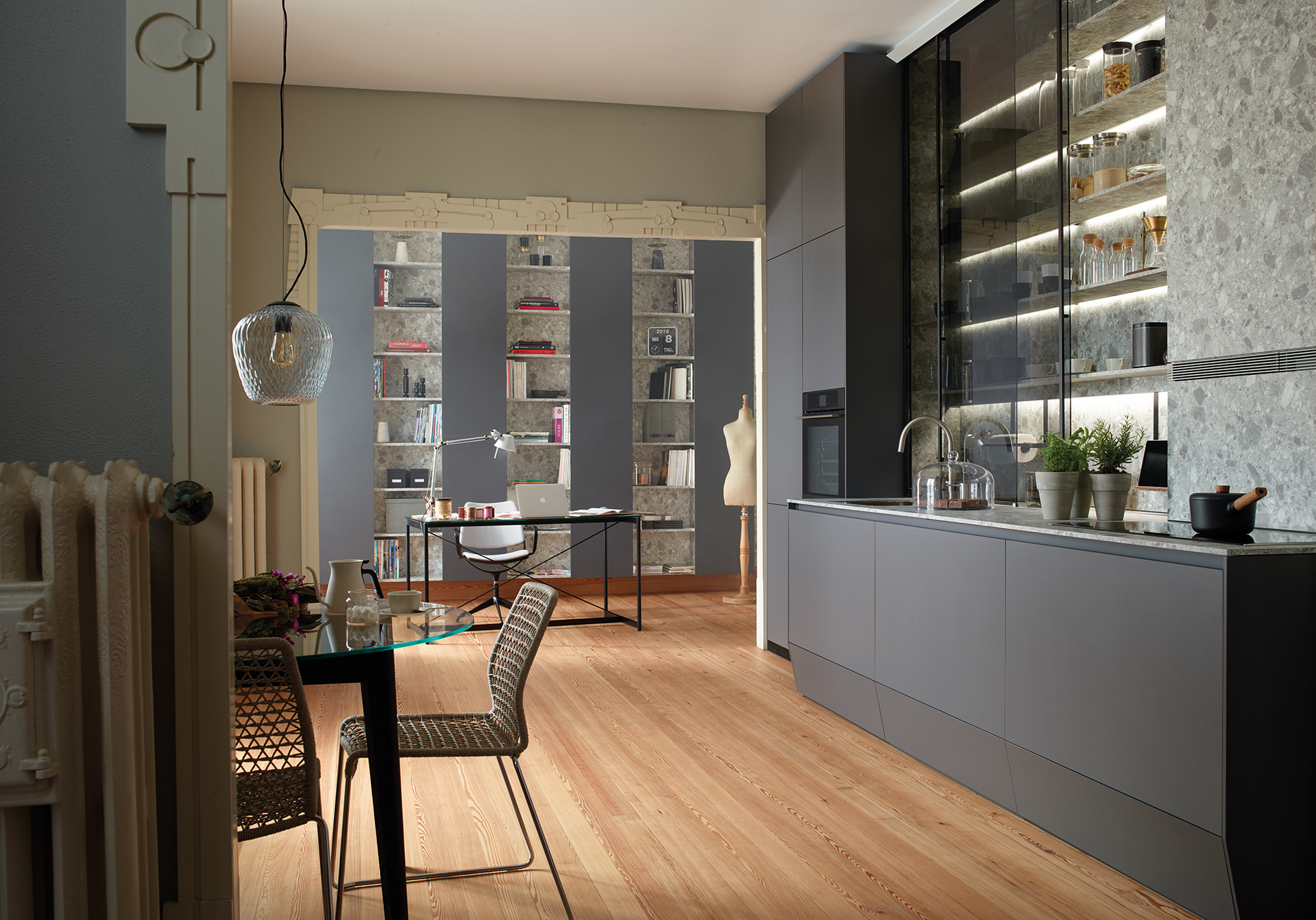 Cocinas pequeñas y cómodas Santiago Interiores