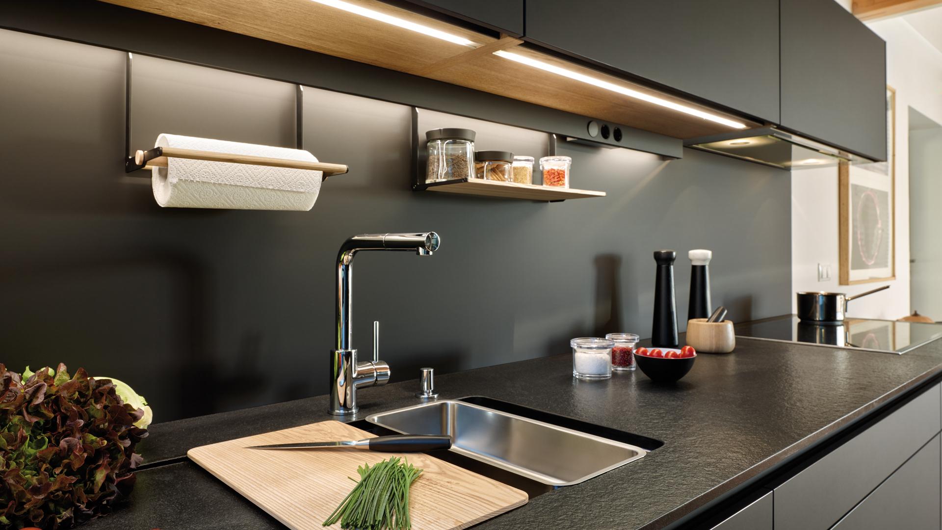 Accesorios zona alta cocinas funcionales Santiago Interiores