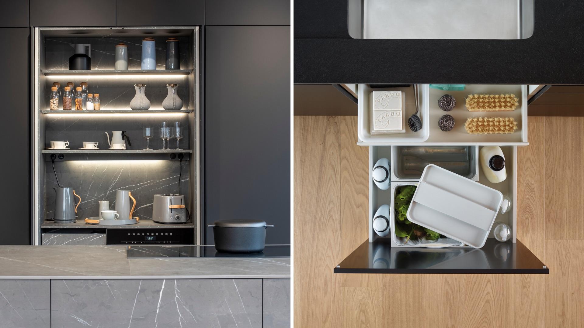 Muebles de cocina funcionales Santiago Interiores