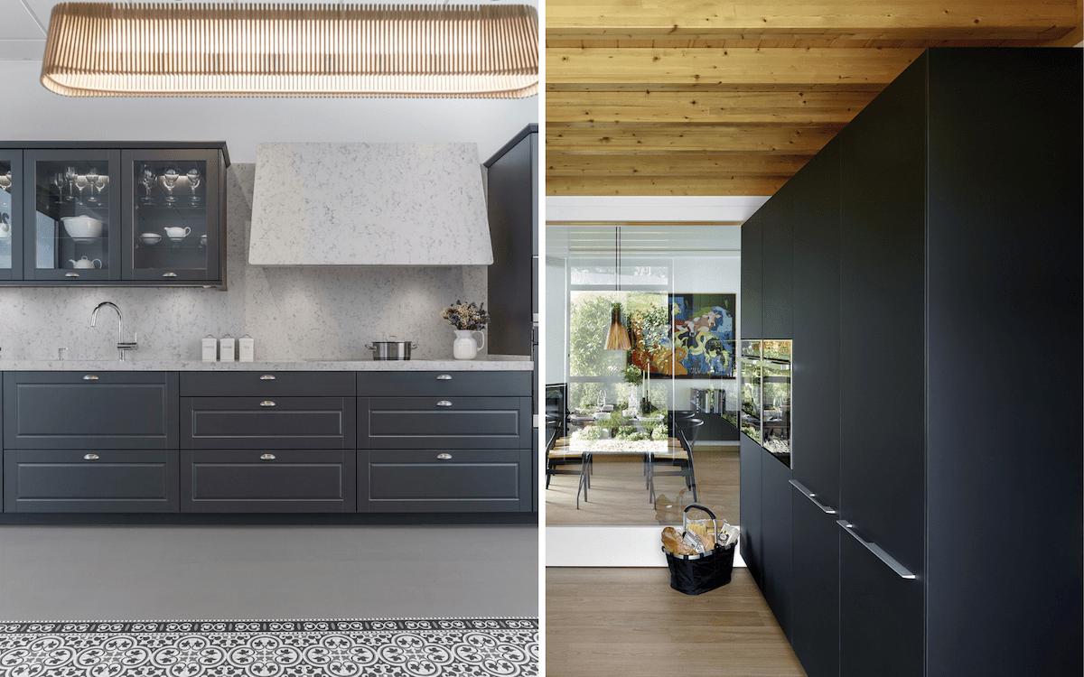 Ideas para reformar tu cocina con muebles sin tiradores Santos