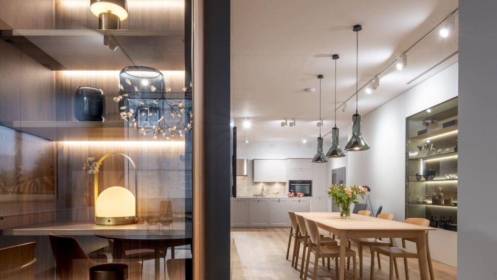 Ideas para iluminar la cocina. Santiago Interiores