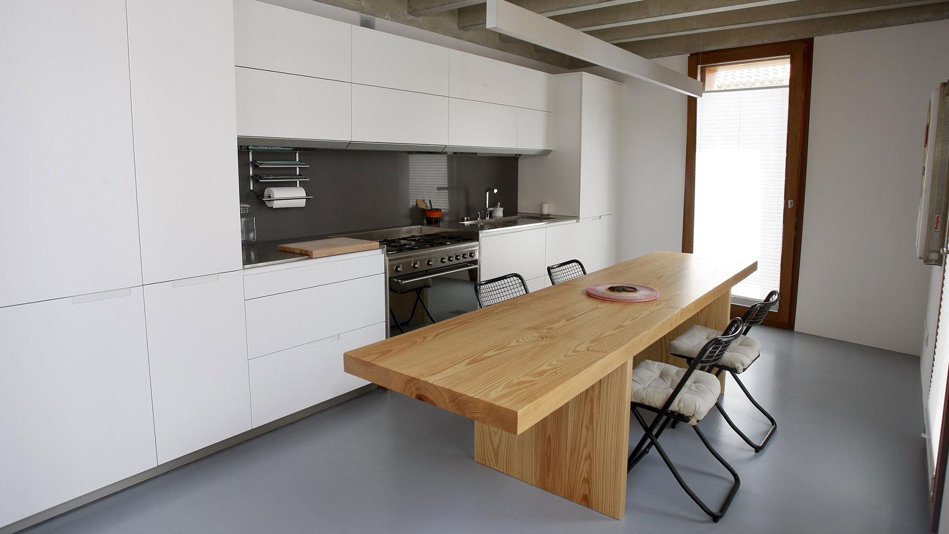Rehabilitación a Fondo Cocina Santiago Interiores