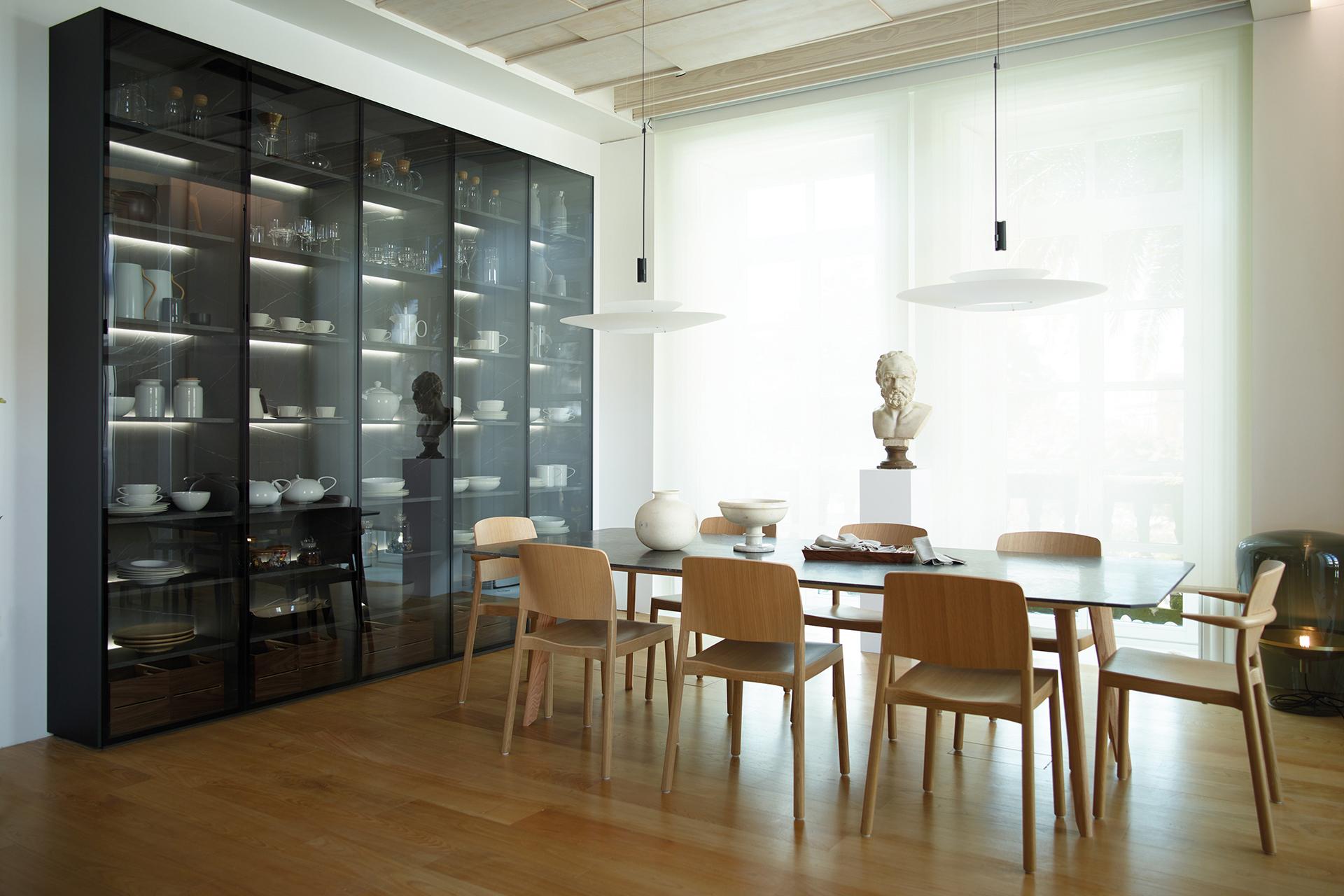 Muebles de Hogar en Santiago Interiores. Estanterías para Cocinas