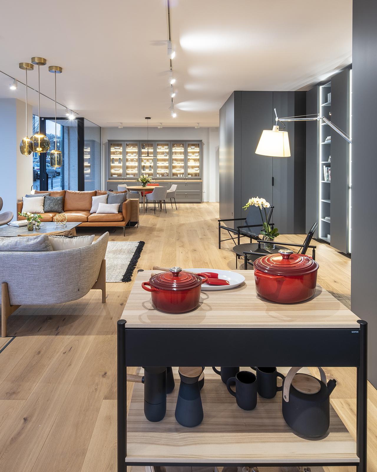 Showroom en Santiago Interiores. Solo las mejores marcas