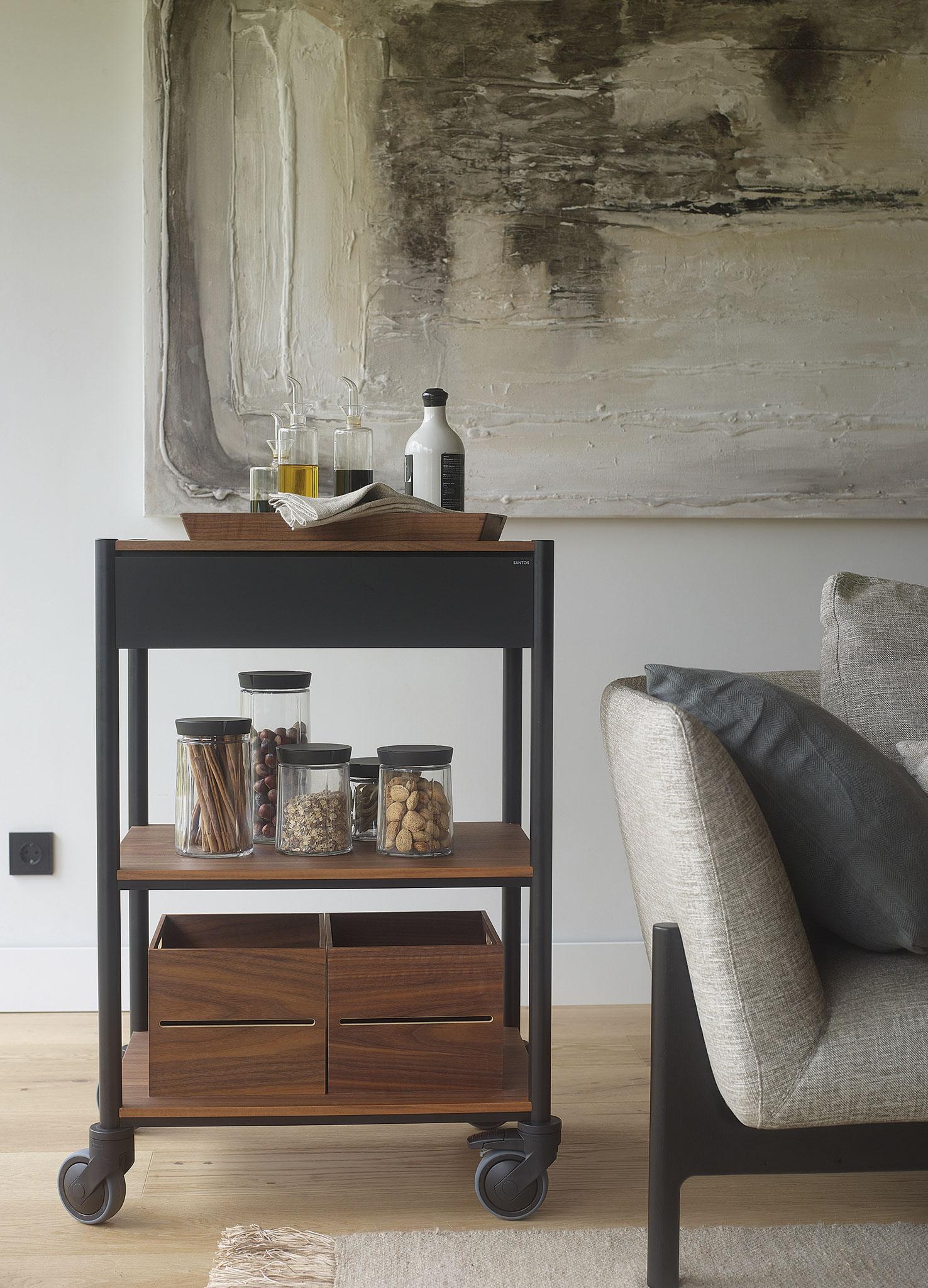 Carrito Multifunción. Santiago Interiores muebles para el hogar