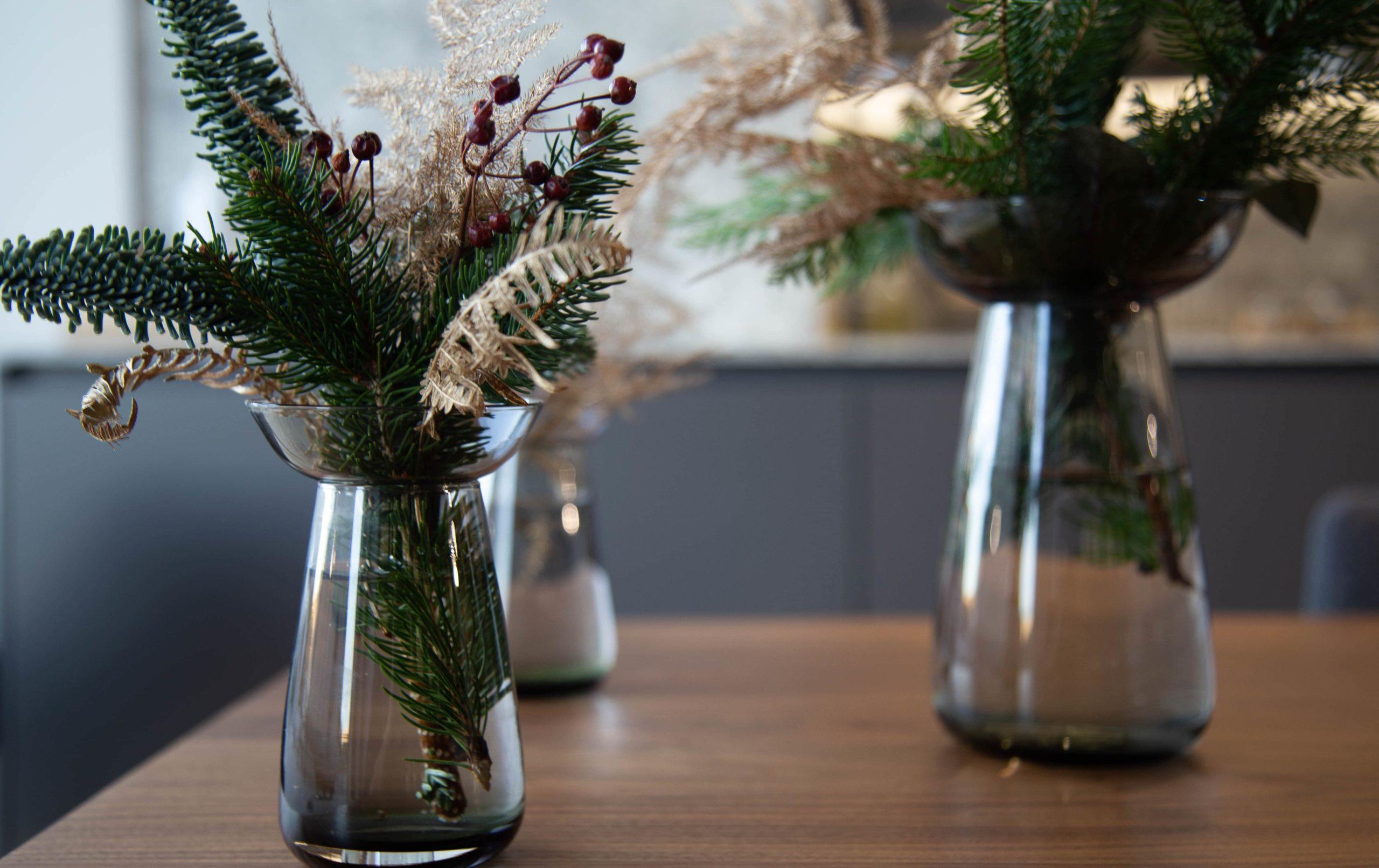 Centros de Navidad para mesa de comedor