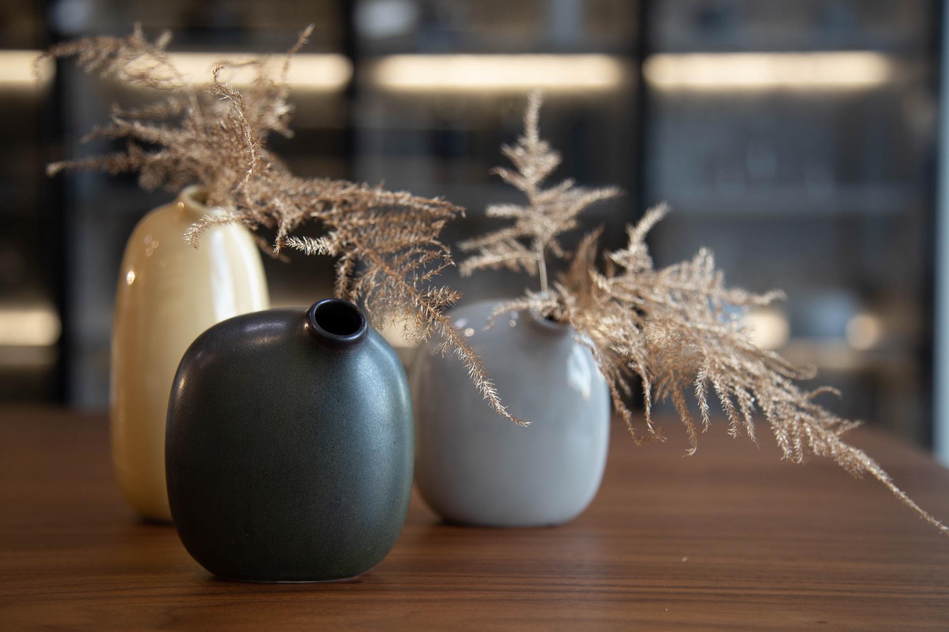 Centros de mesa de Navidad minimalistas