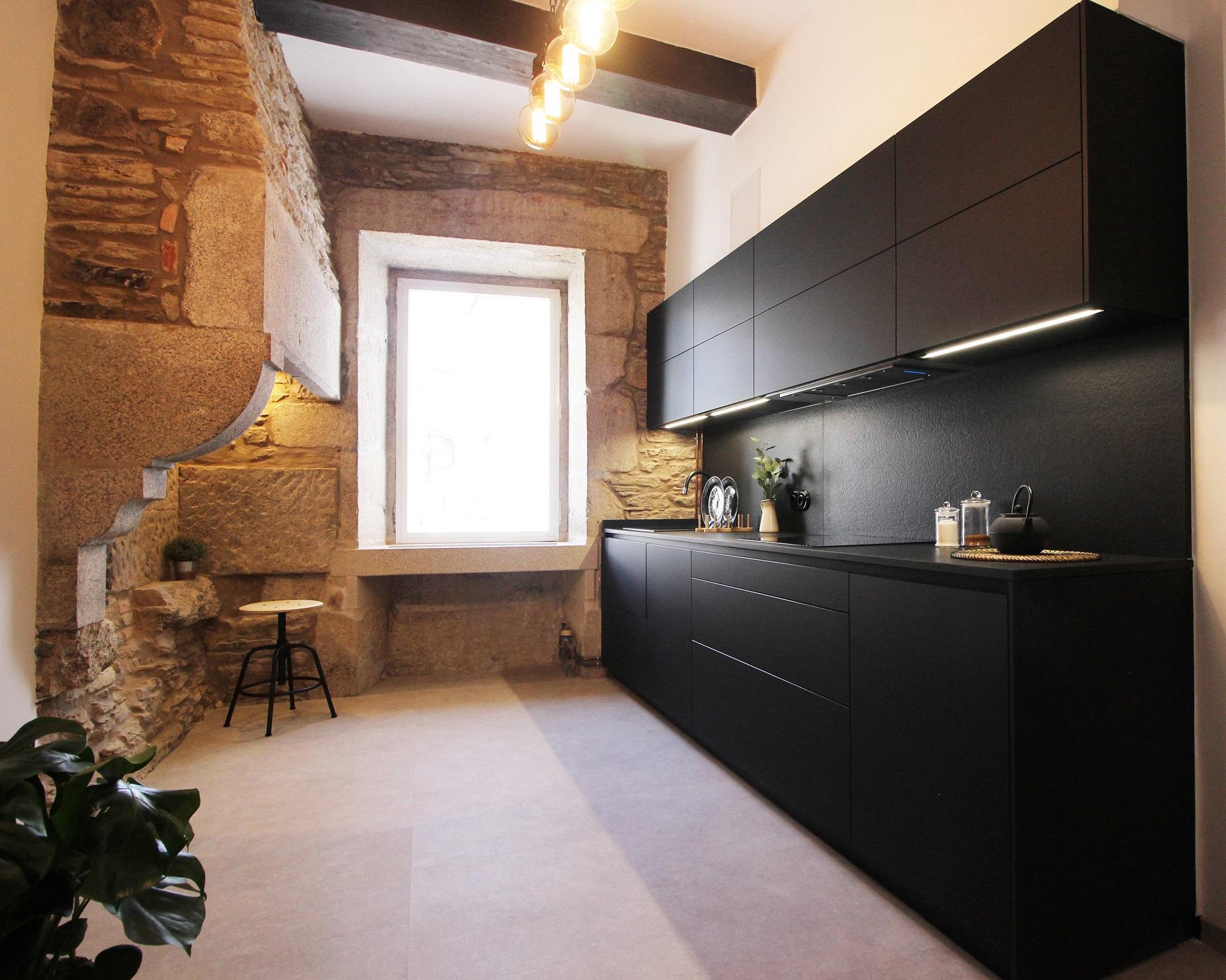 Cocinas rústicas con encanto amplias y luminosas Santiago Interiores