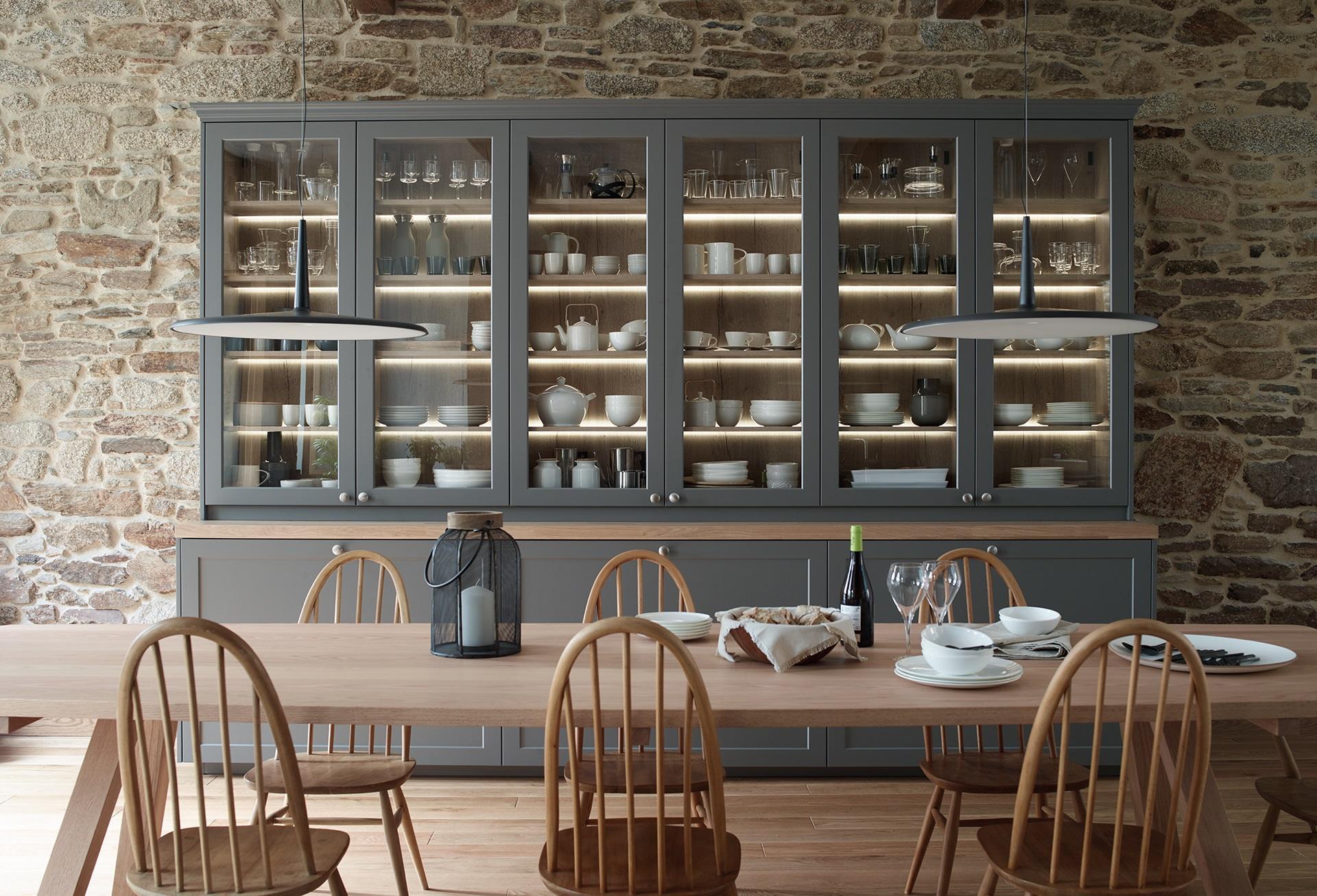 Cocinas rústicas con encanto Santiago Interiores
