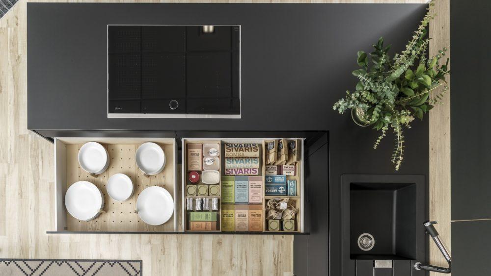 Cómo organizar una cocina pequeña